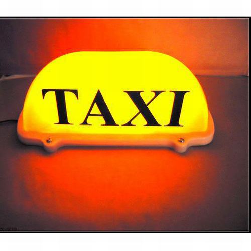 WeatherProof Taxi cab advertising signs-Chungkong One-stop